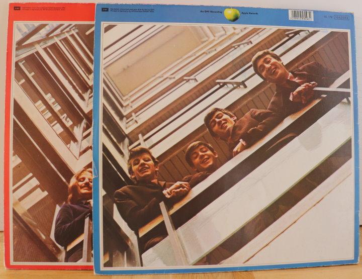Beatles Coverrückseite