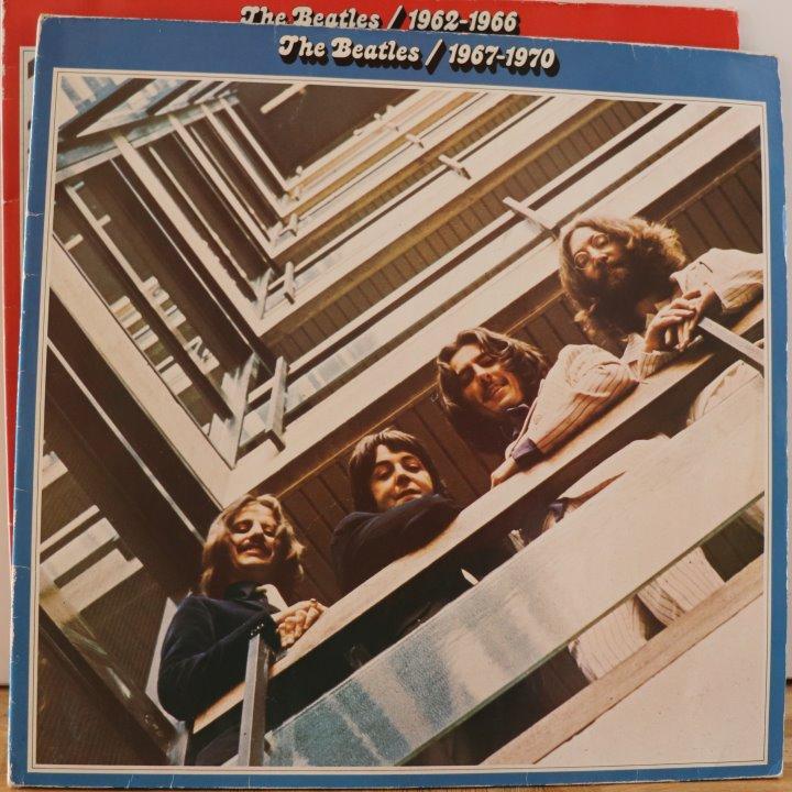 Beatles - Blaues und Rotes Album