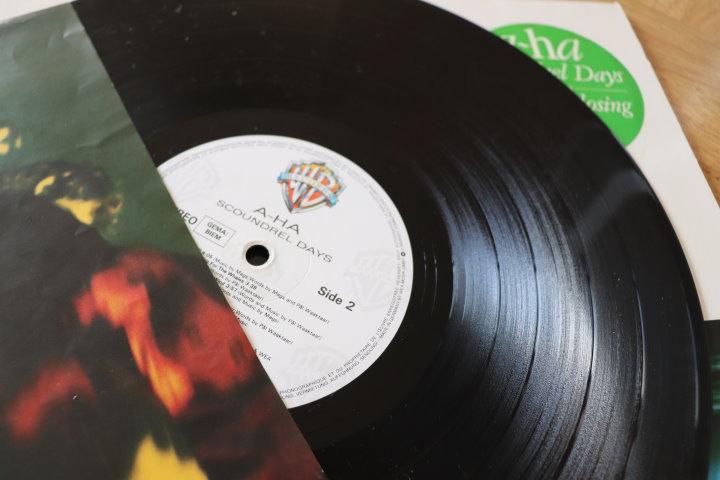 Scoundrey Days auf Vinyl